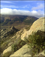 La Sierra de La Cabrera on a mild January day.