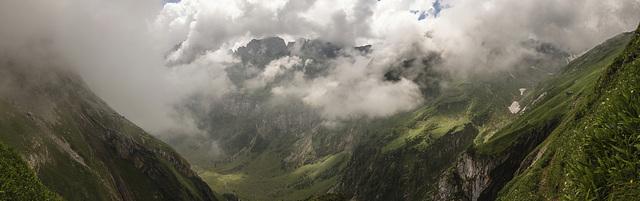 Unterwegs zum Mesmer, Alpstein, AI, Switzerland