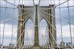 Brooklyn Bridge - spiderweb - 1986