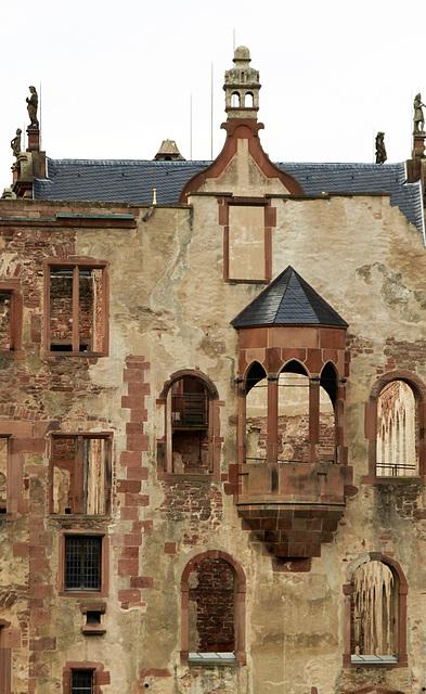 Heidelberg - Schloss - Detail