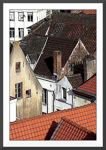 Les toits de Bruxelles VI