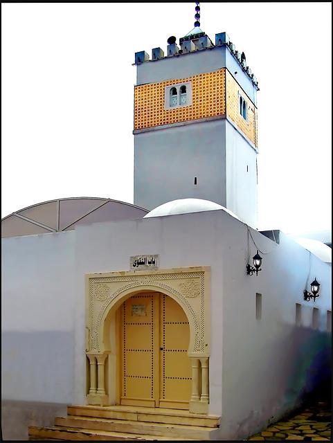 Hammamet : la moskea Kabir nella Médina