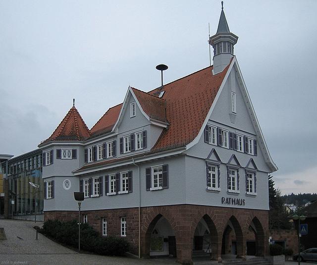 Schömberg - Rathaus