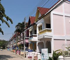 Brochette de balcons thaïlandais / Thai balconies skewer