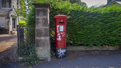 Edward VIII Pillar Box, Dunfermline