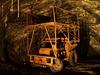 Vehicle no longer used in Loulé's salt mine.