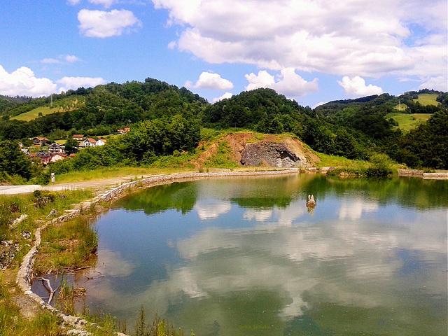 Jezero Gradina