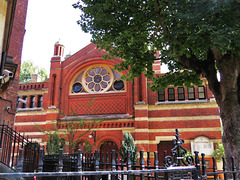 spanish and portuguese synagogue, lauderdale road, maida vale, london