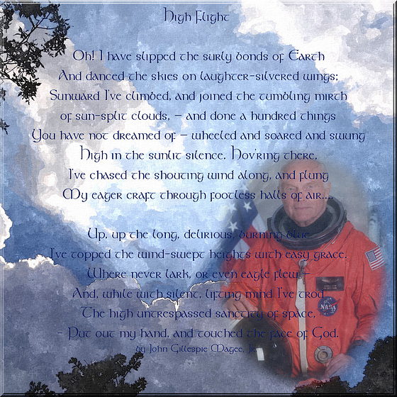 Rest Peacefully John Glenn ** You made us believe we could go to the Stars **