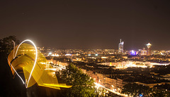 Lyon light painting -