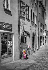 Im alten Handwerkerviertel - In the old artisan district