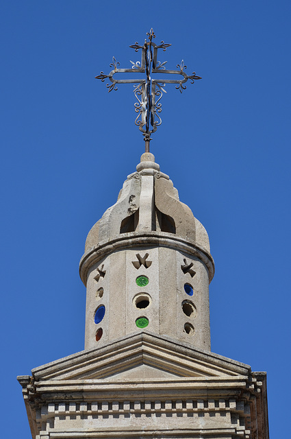 Rhodes, The Top of Aghios Antonios Church in Laerma