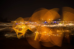 Lyon light painting -