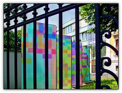 Polizeiabsperrung - Police barrier (◕‿-)