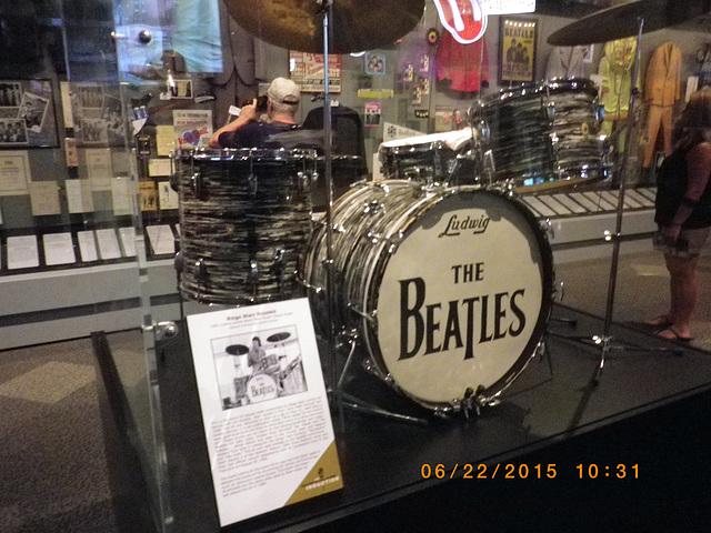 Beatles drum set