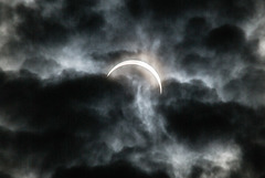 Total Solar Eclipse 09 March 2016 - Indonesia - Belitong - Pantai Burung Mandi -  Partial Phase #7