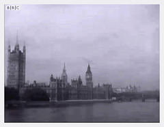 Westminster with sky