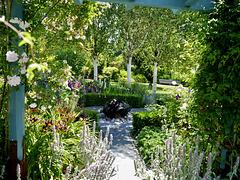RHS garden bench