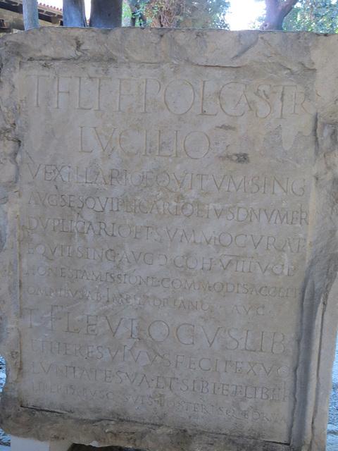 Musée archéologique de Split : AE 2006, 1013.