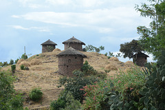 Ethiopia, Rural Site in Lalibela