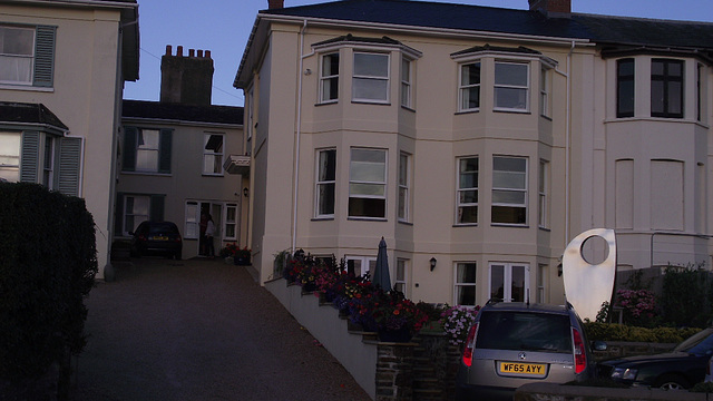 A beautiful house right on the seafront