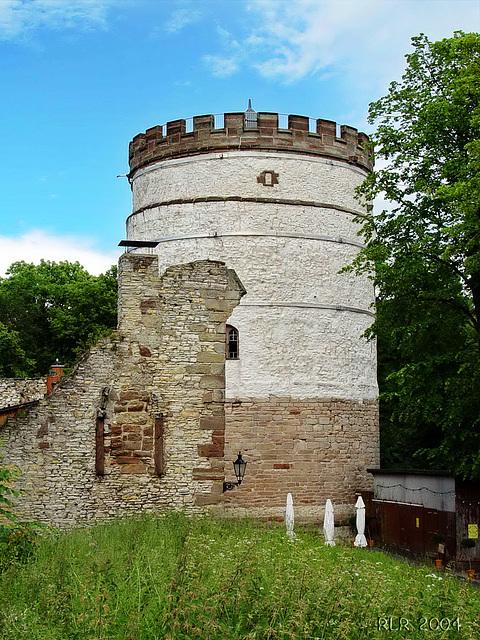 Plesseburg,  Bergfried