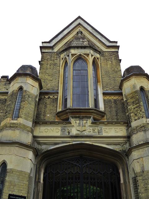 highgate west cemetery. london