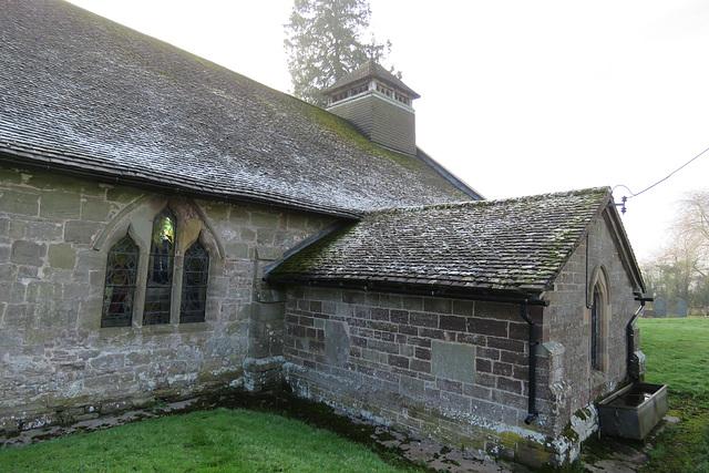 brinsop church, herefs.