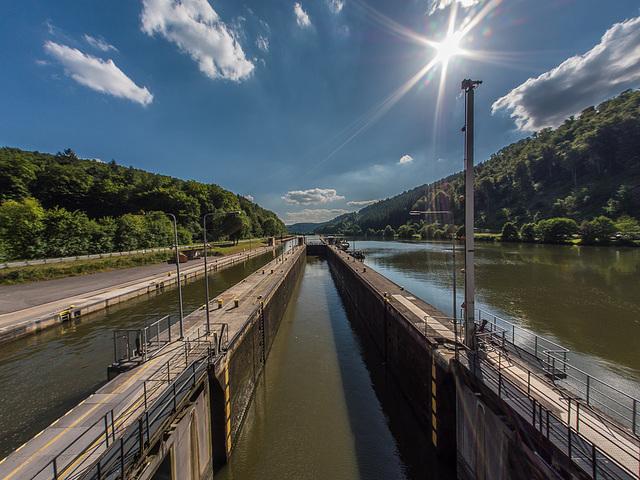 Neckar Locks / Neckarschleuse (225°)