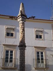 Pillory - symbol of municipal authority.