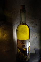 Juste une bouteille d'huile