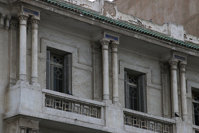 Aging balconies