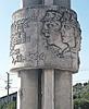 Monument near Berat castle