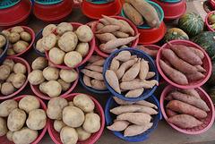 Unterwegs in Südkorea: Kartoffeln
