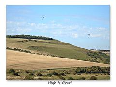 High & Over the Cuckmere valley - 7.9.2016