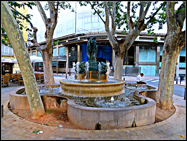 Valencia: Plaza de Rodrigo Botet