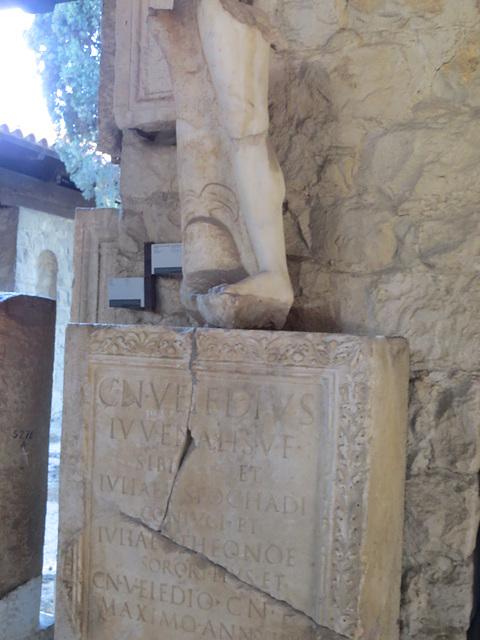 Musée archéologique de Split : CIL III, 9392.