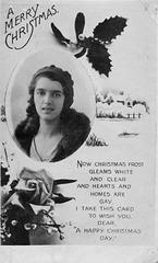 Edith L R Everett Christmas 1931