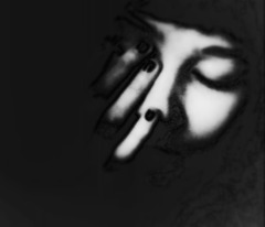 Tu te caches derrière mes yeux