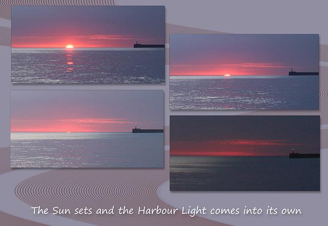 Big light * Little light - Sunset - Newhaven - 20.3.2016