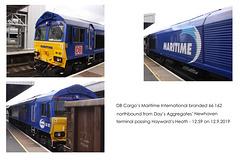 DB Maritime International 66 162 Hayward's Heath 12 9 2019 collage