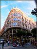 Valencia: Esquina calle Roger de Lauria con Paseo Ruzafa