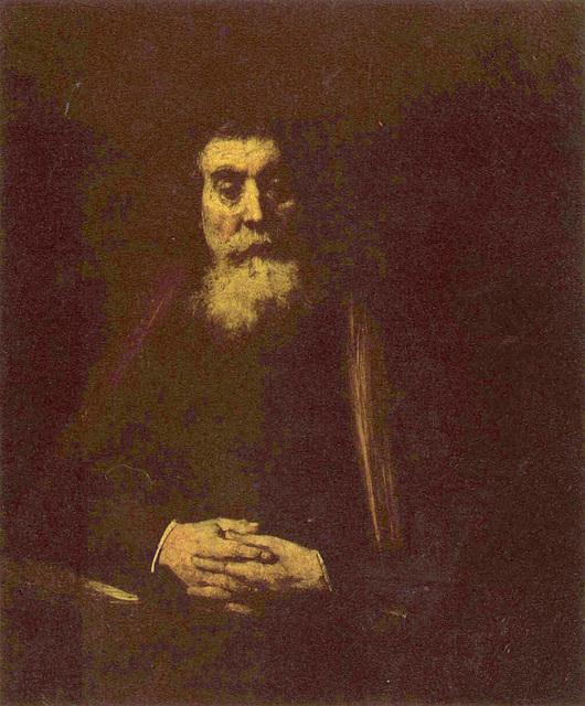 Rembrandt van Rijn - portreto de Komenio