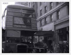 bus at Marble Arch 1955