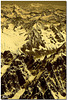 De l'Aiguille Verte, vur sur la Suisse-Cervin et Mont Rose
