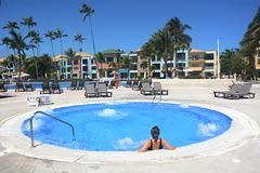 Dominican Republic, Hydro Massage Bath at the Ocean Blue & Sand Hotel