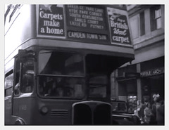 1955 bus at Marble Arch