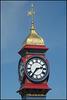 iconic Weymouth clock