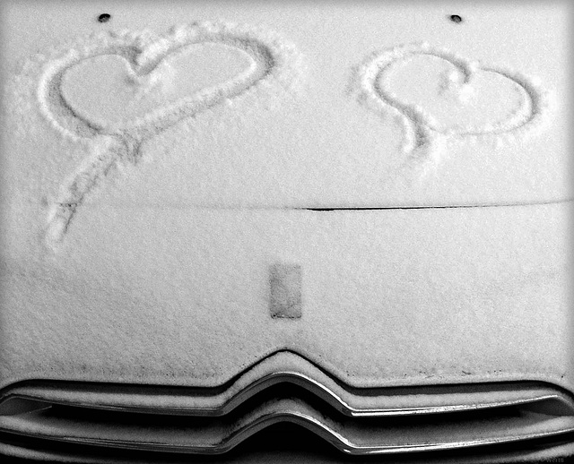 Love from a wintry Finland