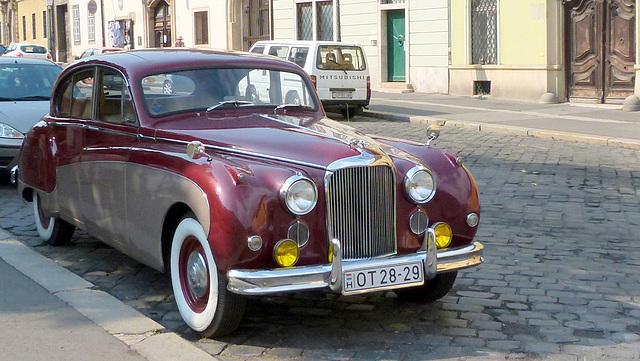 Jaguar Mk IX Overdrive, 1958-61